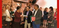 Ambassador of India H E Mr. Tsewang Namgyal visit to Krakow
