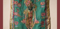 Tapestries by Sangeet Gandhi ?Expressions of the Blue Legend. Krishna?
