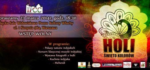 Obchody święta HOLI w Warszawie