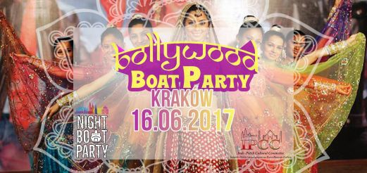 16th June 2017 - Bollywood Night Boat Party!