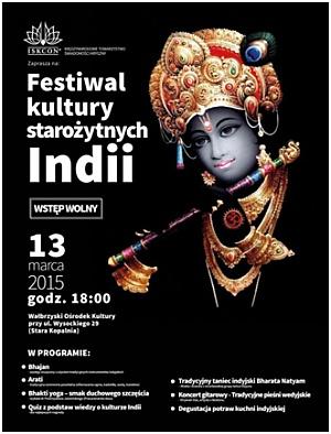 II Festiwal Kultury Indii w Wałbrzychu - 13 marca 2015 r.