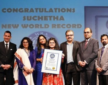 Indian girl sings in 102 languages, breaks record